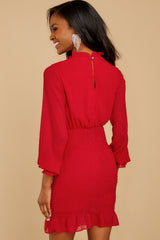 10 Lasting Impression Red Dress at reddressboutique.com