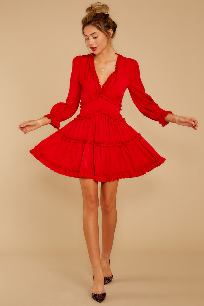 1 More To Come Red Dress at reddressboutique.com