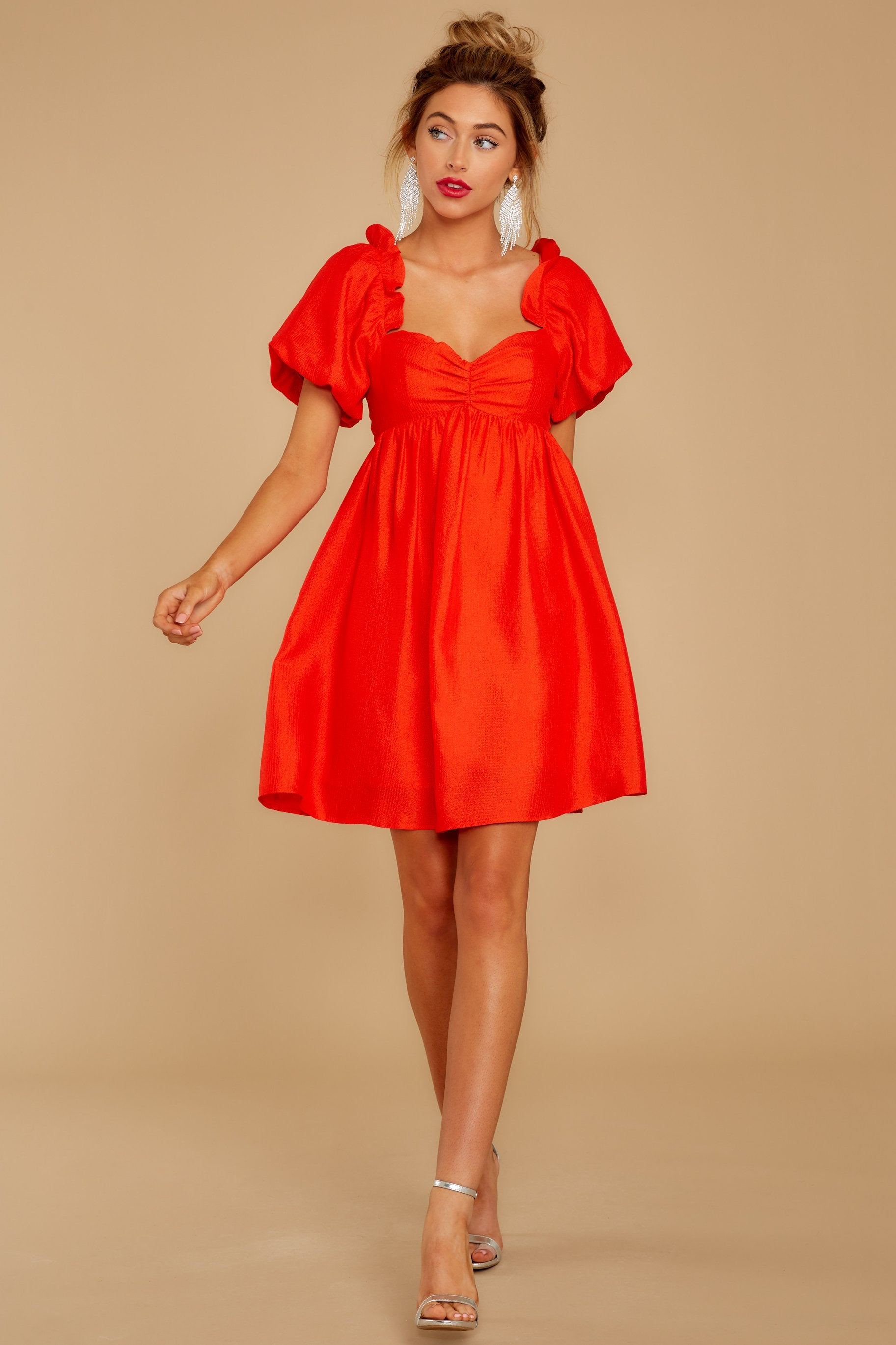 2 Keep On Wishing Red Dress at reddressboutique.com