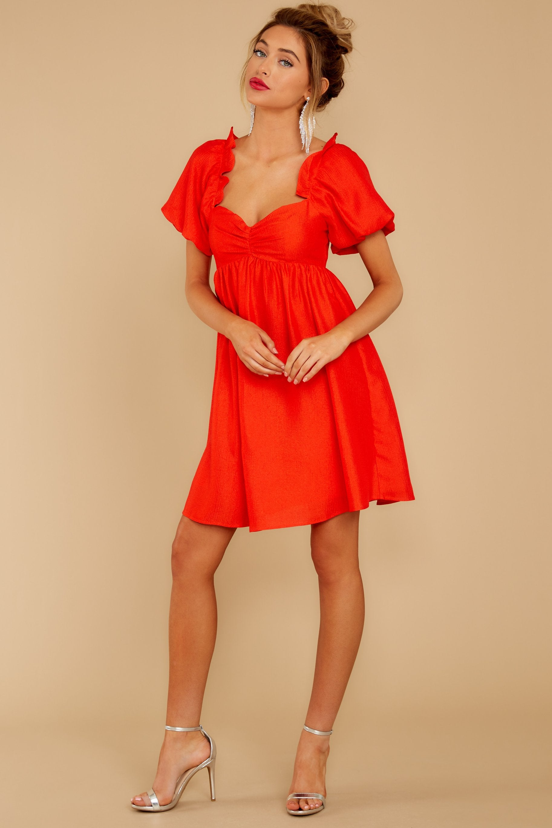 5 Keep On Wishing Red Dress at reddressboutique.com
