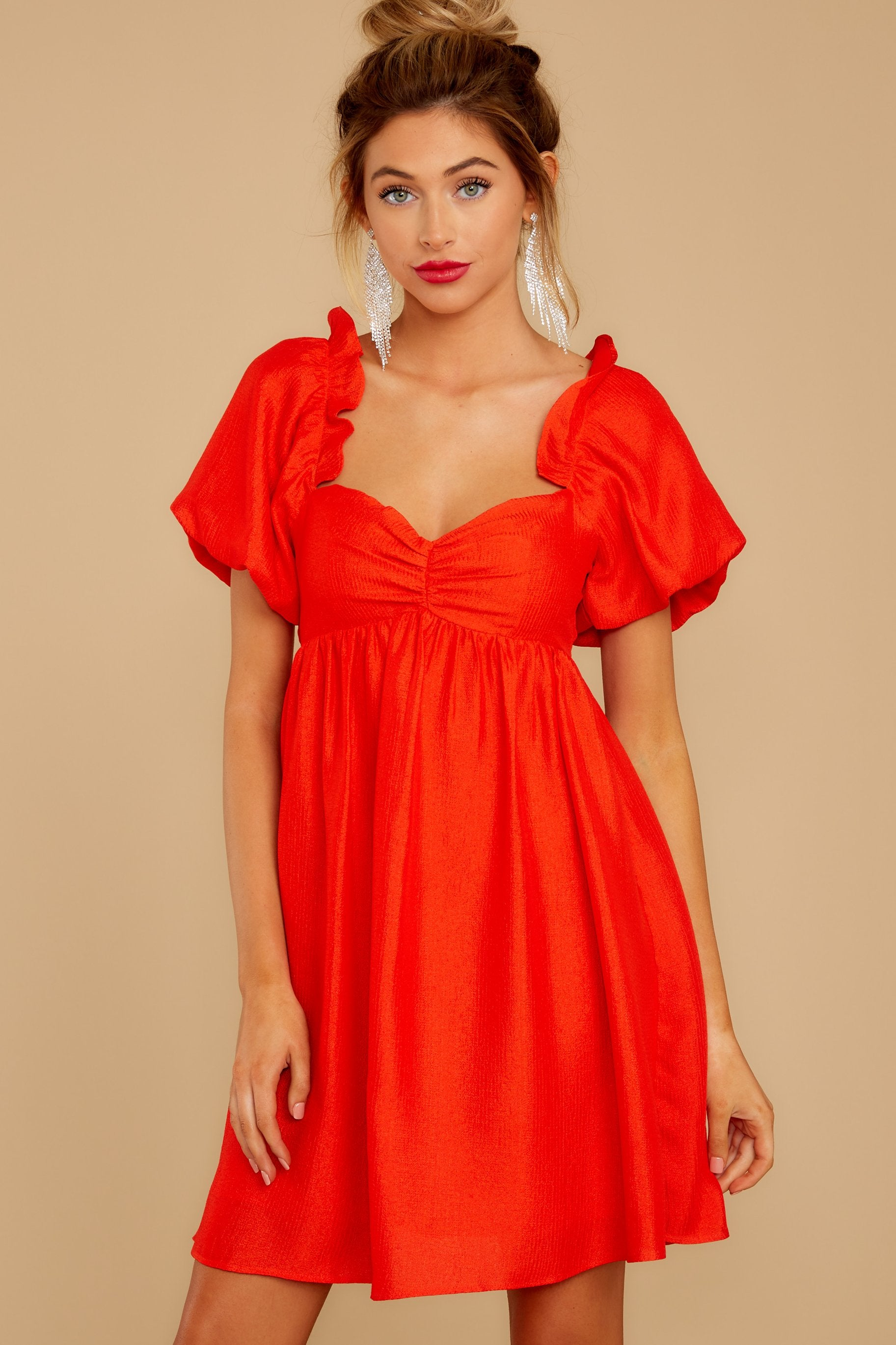 6 Keep On Wishing Red Dress at reddressboutique.com