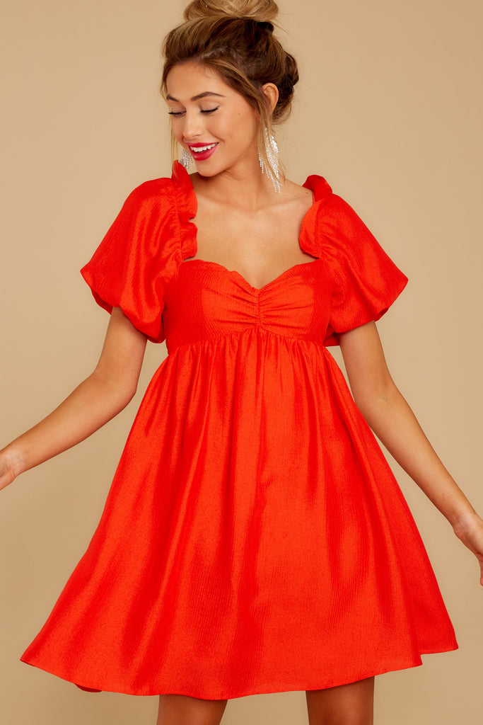1 From A Song Tomato Red Dress at reddress.com
