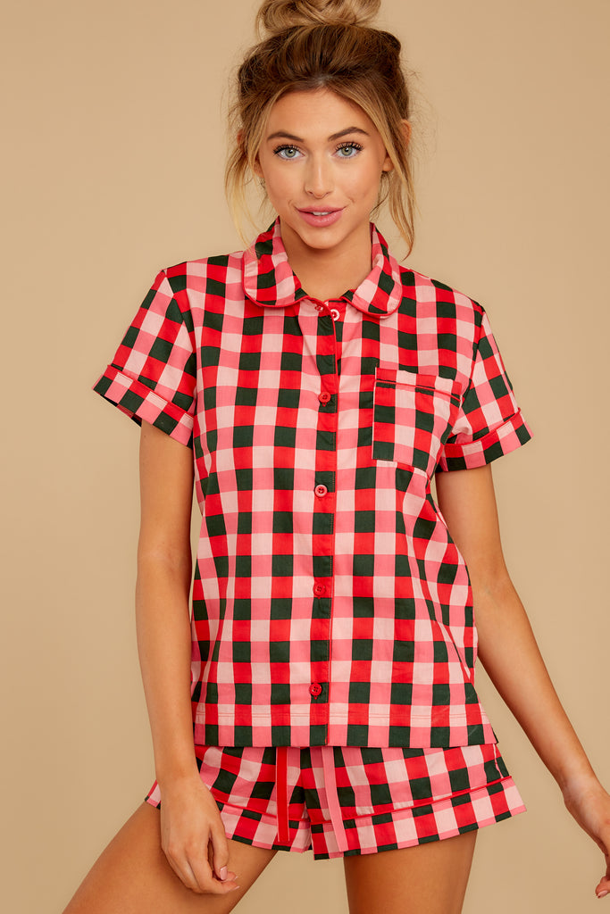 1 Party Dots Leisure Shirt at reddressboutique.com