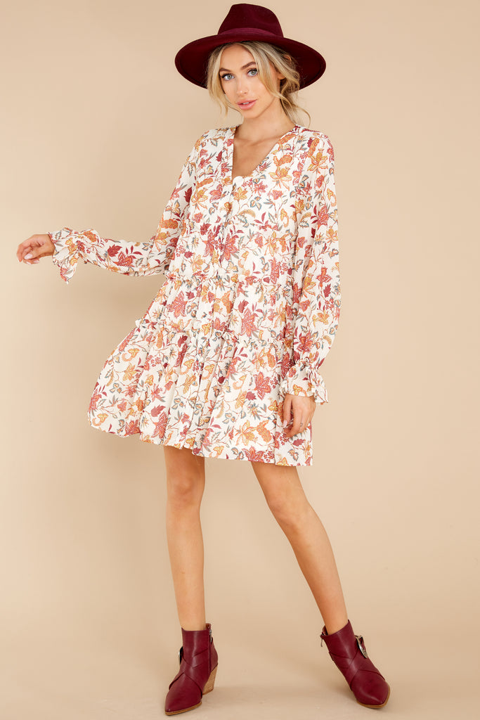 1 Woodstock Multi Paisley Mini Dress at reddress.com