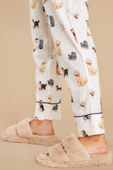 1 Surrounded By Warmth Ivory Slippers at reddress.com
