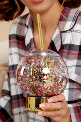 1 Let It Snow Glitter Globe Cup at reddress.com