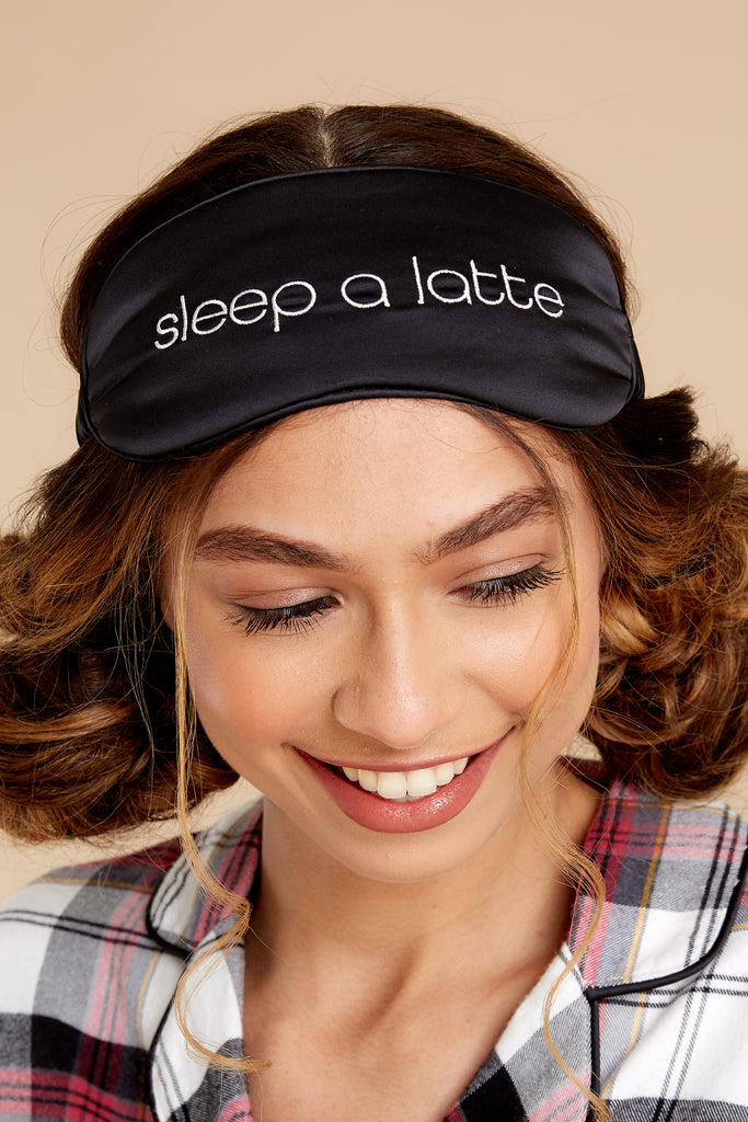 1 Sleep A Latte Sleep Mask at reddress.com