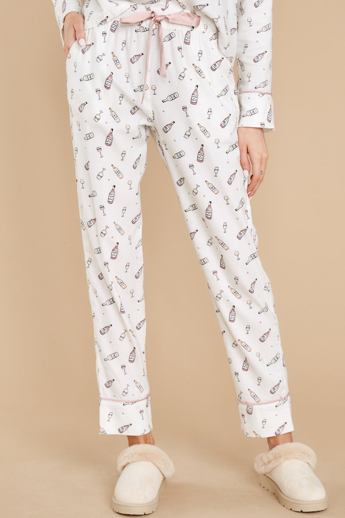 1 Dream State Vanilla Ice Vino Pajama Pants at reddress.com