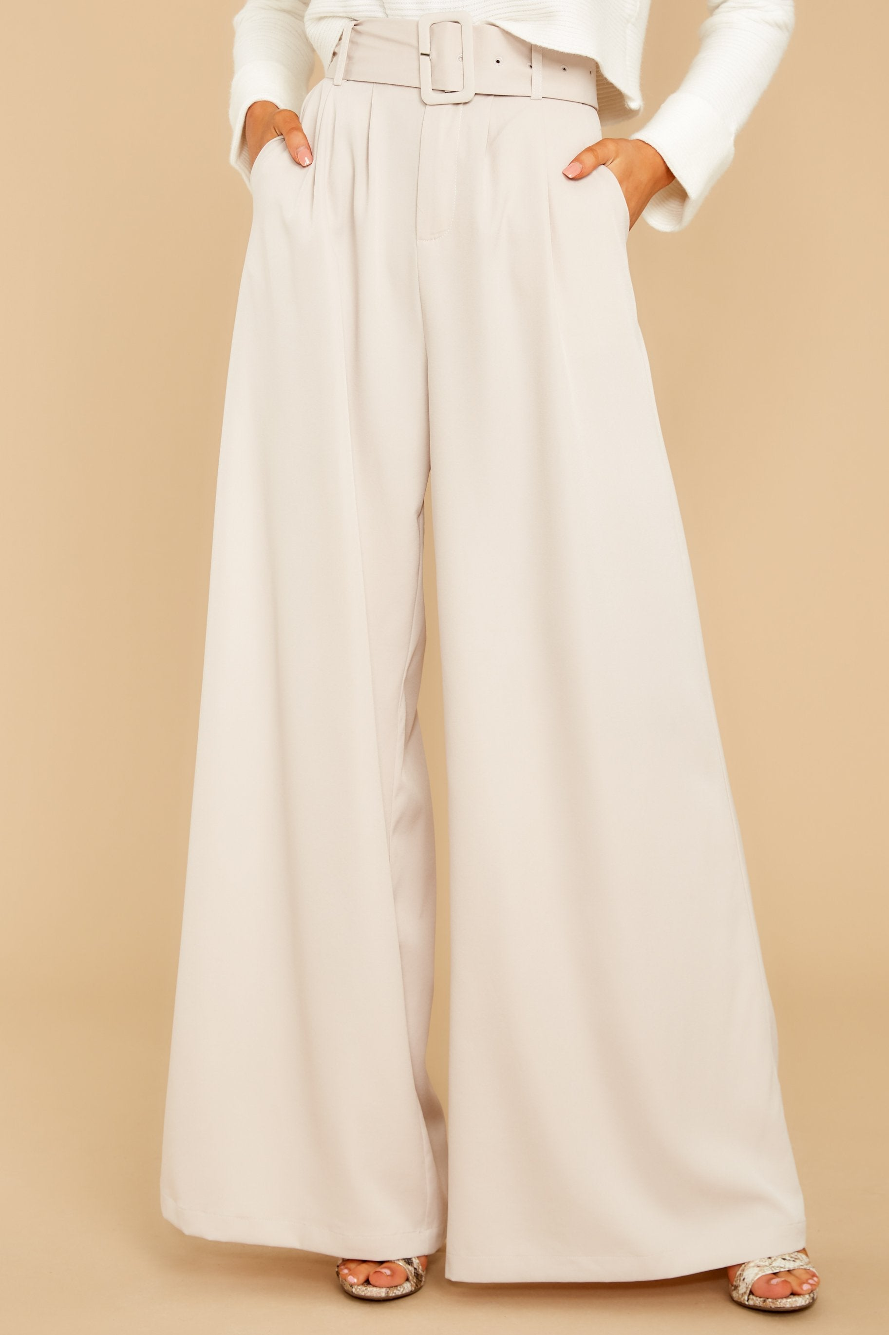 Did Women Wear Pants in the 1920s? Yes! sort of… State The Facts Light Beige Pants $44.00 AT vintagedancer.com