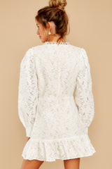 8 May This Be Love White Lace Dress at reddressboutique.com