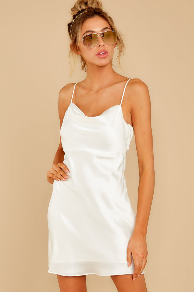 2 Killing It White Dress at reddressboutique.com