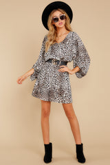 1 Always A Hit Leopard Print Dress at reddressboutique.com
