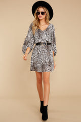 2 Always A Hit Leopard Print Dress at reddressboutique.com
