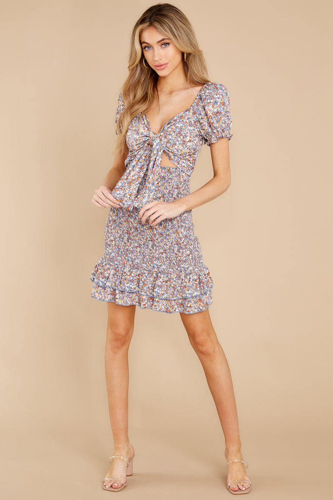 1 It's Your Choice Lavender Floral Print Dress at reddress.com