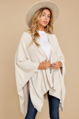 5 CozyChic Lite® Stone Pearl Weekend Wrap at reddressboutique.com