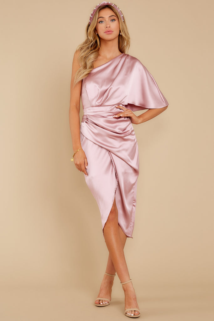 1 Wrapped In Class Champagne Maxi Dress at reddress.com