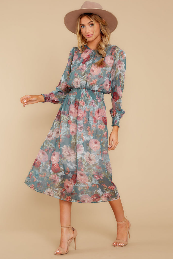 1 Forgotten Story Taupe Paisley Print Maxi Dress at reddressboutique.com