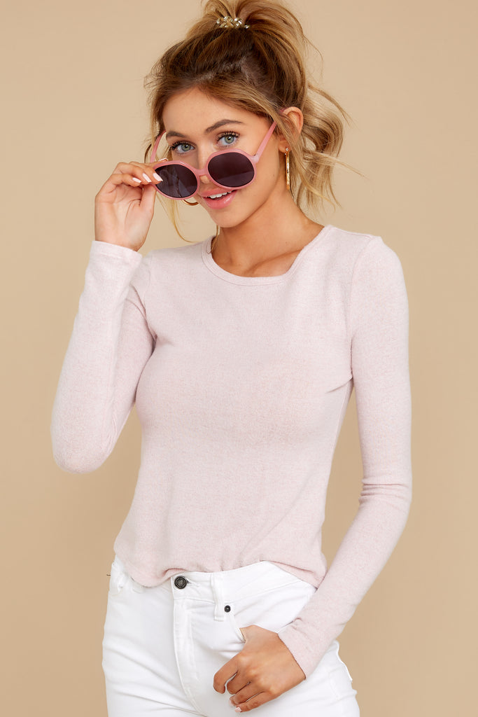 1 The Simply Taupe Triblend Vacay Pullover at reddressboutique.com
