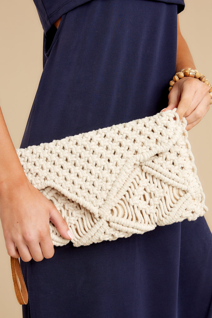 1 Marlena Ivory Snakeskin Clutch at reddress.com