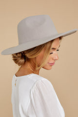 1 Made For This Grey Hat at reddressboutique.com