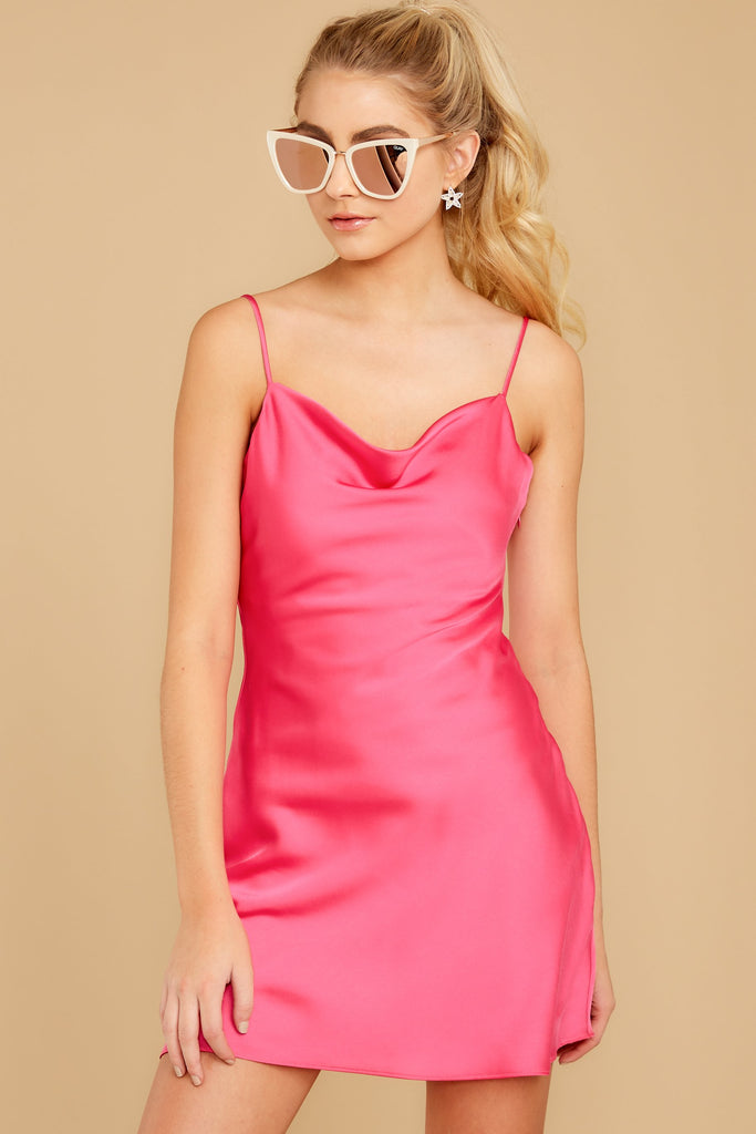 6 Everyday Here Hot Pink Dress at reddressboutique.com