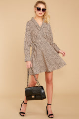3 Before You Go Cheetah Print Dress at reddressboutique.com
