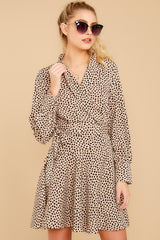 7 Before You Go Cheetah Print Dress at reddressboutique.com
