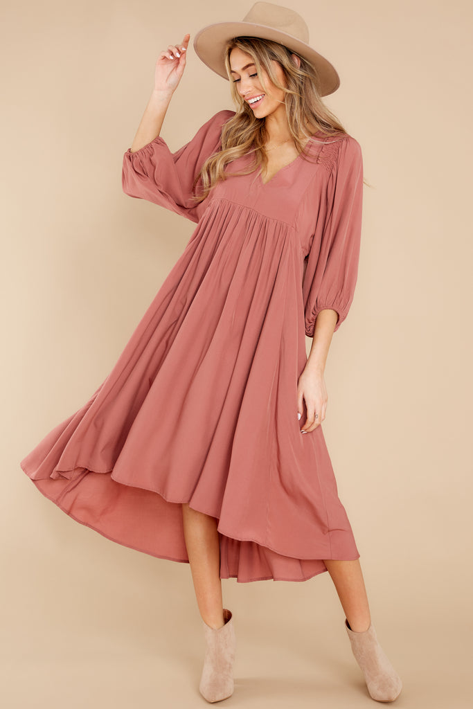 1 Need It All Rose Pink Maxi Dress at reddress.com