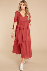 4 Isn't She Lively Wine Maxi Dress at reddress.com