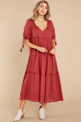 1 Isn't She Lively Wine Maxi Dress at reddress.com