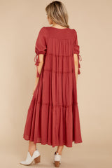 6 Isn't She Lively Wine Maxi Dress at reddress.com