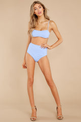 2 Catch The Tide Sky Blue Bikini Top at reddress.com