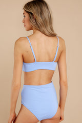 8 Catch The Tide Sky Blue Bikini Top at reddress.com
