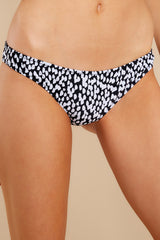 1 Eva Painted Dot Bikini Bottoms at reddress.com