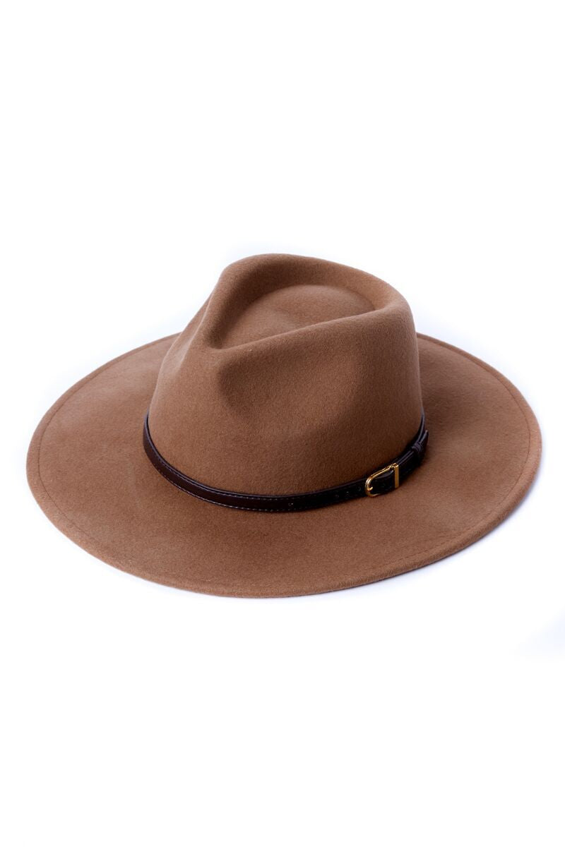 2 Sunday River Brown Hat at reddressboutique.com