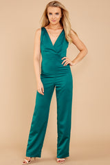 1 Legends Only Green Jumpsuit at reddressboutique.com