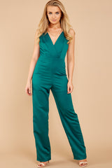5 Legends Only Green Jumpsuit at reddressboutique.com
