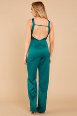 4 Legends Only Green Jumpsuit at reddressboutique.com