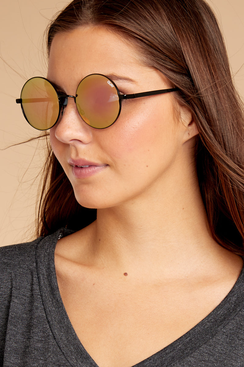 Quay Australia Reflective Sunglasses Statement