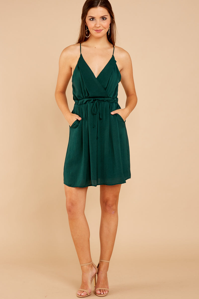 1 Greatest There Is Pine Green Dress at reddressboutique.com