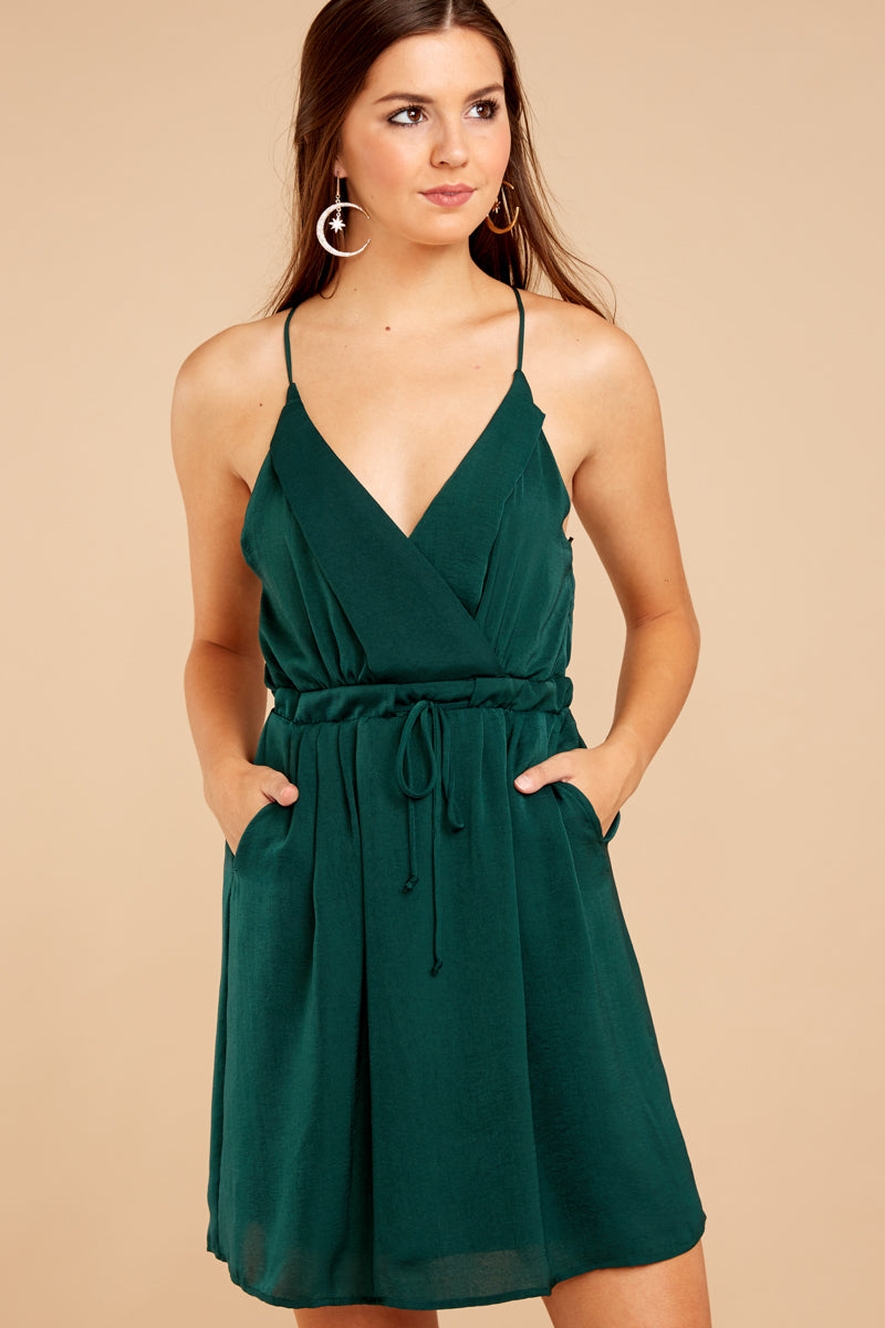 5 Greatest There Is Pine Green Dress at reddressboutique.com