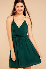 4 Greatest There Is Pine Green Dress at reddressboutique.com