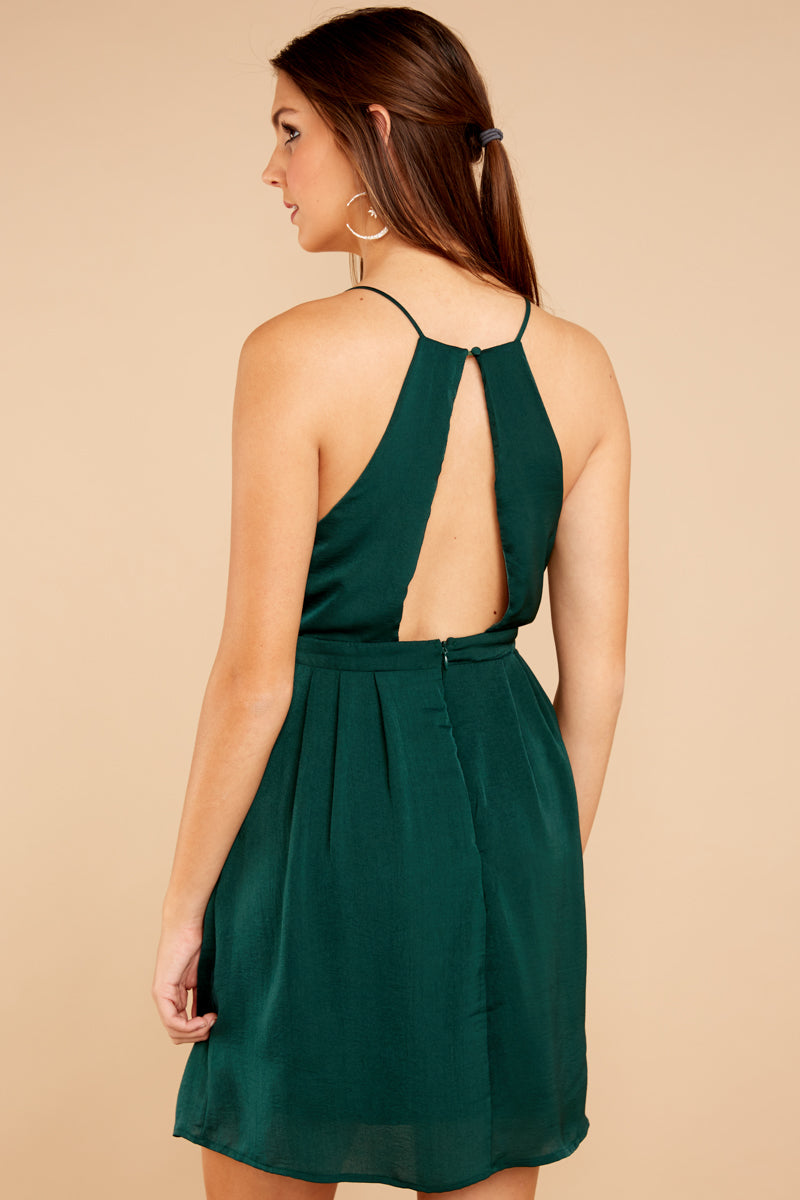 6 Greatest There Is Pine Green Dress at reddressboutique.com