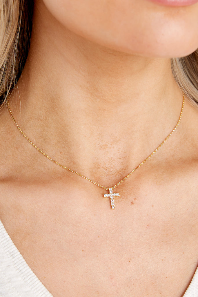 1 Keeping Your Faith Silver Cross Huggies at reddress.com