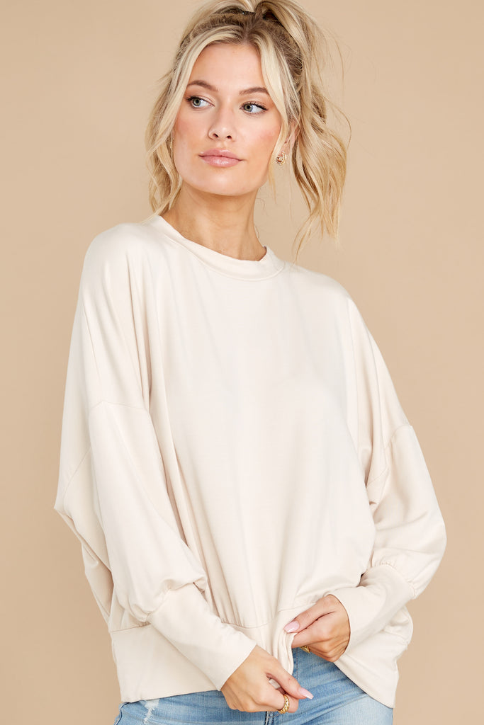 1 Searching For More Ivory Sweater at reddress.com