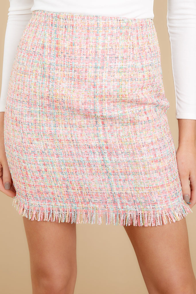 1 In A Twitter White Embroidered Skirt at reddress.com