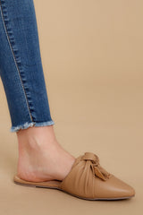 4 Set It Aside Nude Loafers at reddress.com