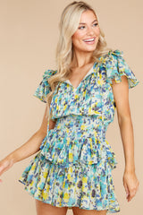 9 Audette Acai Berry Floral Print Dress at reddress.com
