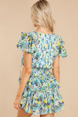 10 Audette Acai Berry Floral Print Dress at reddress.com