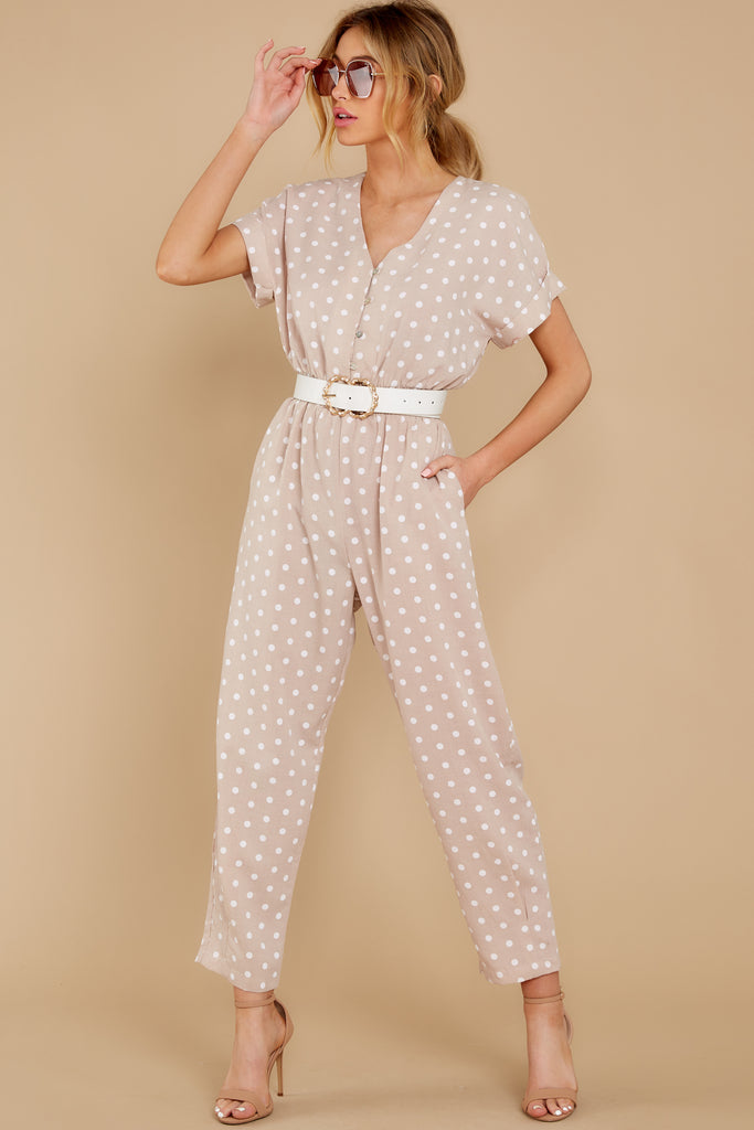 66 Late Summer Evenings Dusty Rose Jumpsuit at reddress.com